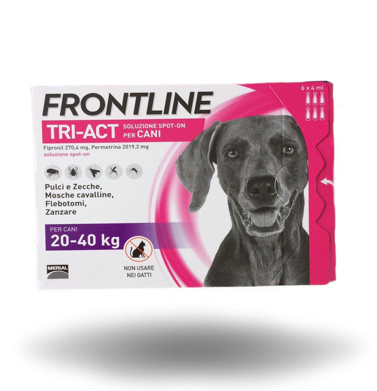 FRONTLINE TRI-ACT per cani da 20-40Kg  6 pipette