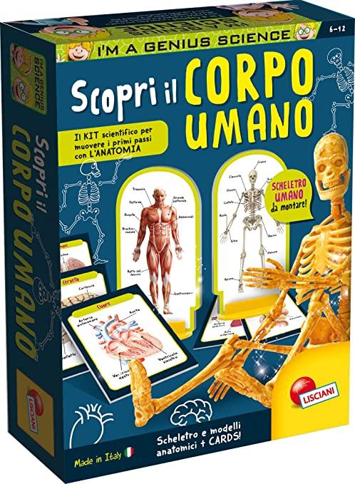 LISCIANI - I'M A GENIUS SCIENCE - Scopri il Corpo Umano