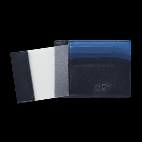 Custodia tascabile 4 scomparti Montblanc Meisterstück con portadocumento