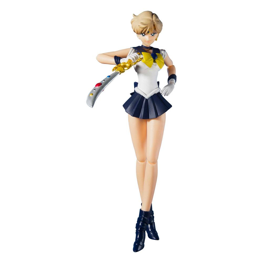 *PREORDER* Sailor Moon S.H. Figuarts Action Figure: SAILOR URANUS - ANIMATION COLOR EDITION by Bandai