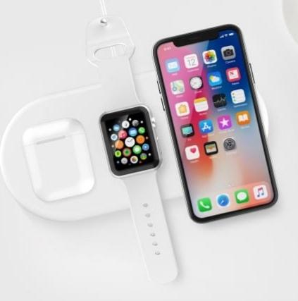 Caricatore Wireless 3 in 1 per iPhone, Apple Watch e AirPods