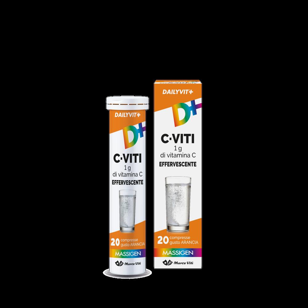 Massigen Vitamina C effervescente 20 compresse