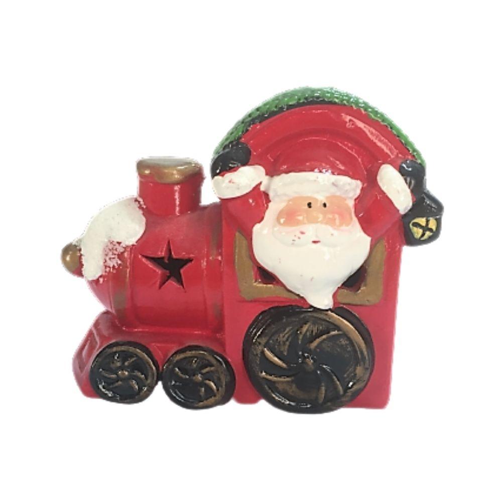 Trenino Babbo Natale con luce idea regalo