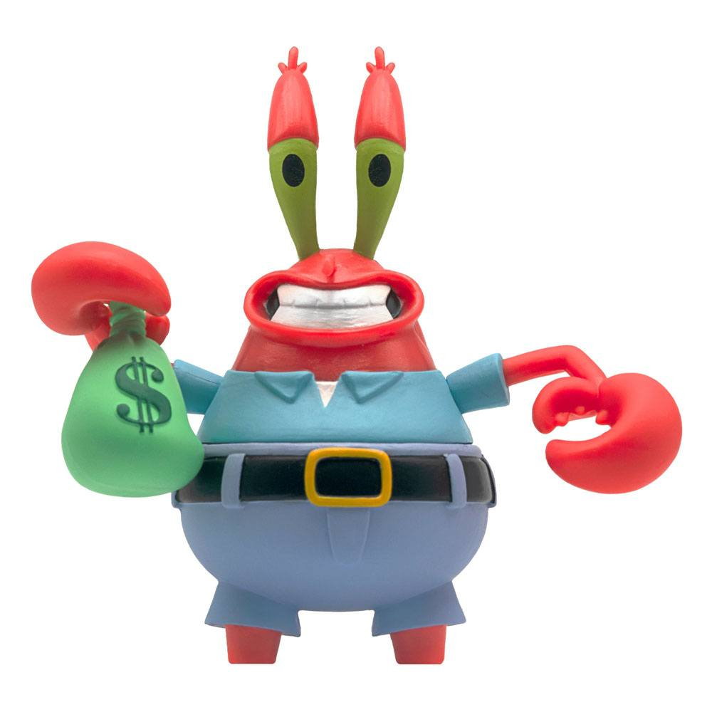 SpongeBob SquarePants ReAction Action Figure: MR KRAB by Super7