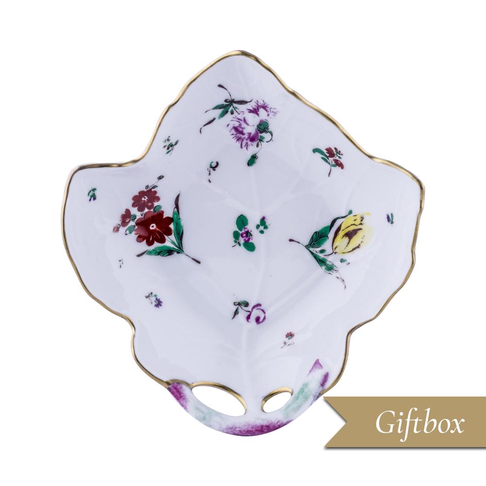 Foglia da sorbeto decorata in giftbox GCV