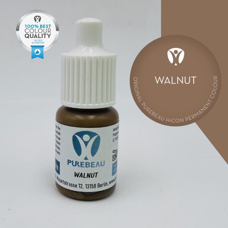Pigmento Liquido per PMU Purebeau - Walnut (5 ml)