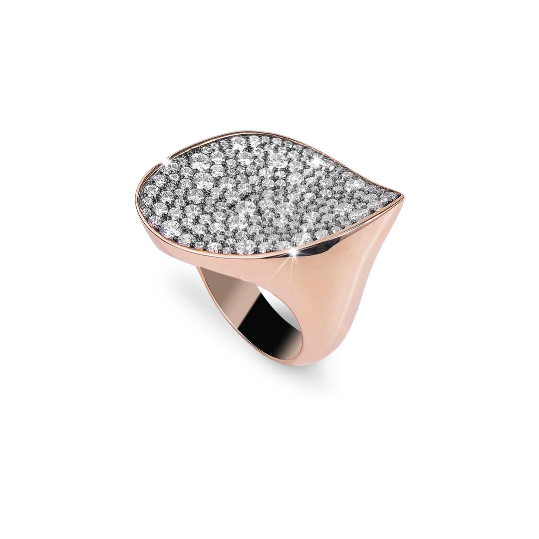 BROCCHI, anello argento e zirconi
