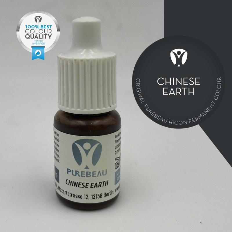 Pigmento Liquido per PMU Purebeau - Chinese Earth (5 ml)