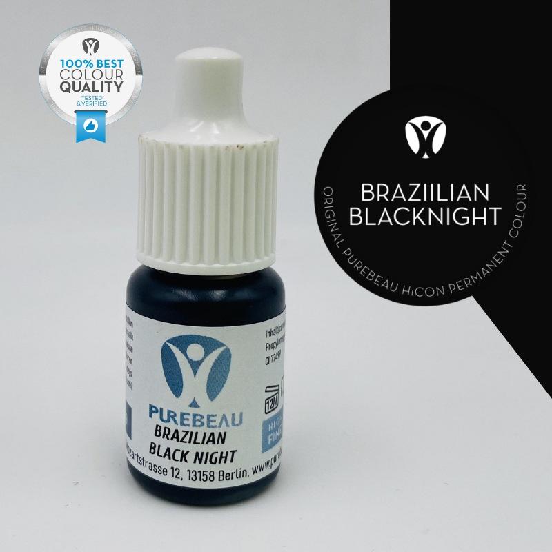 Pigmento Liquido per PMU Purebeau - Brazilian Black Night (5 ml)