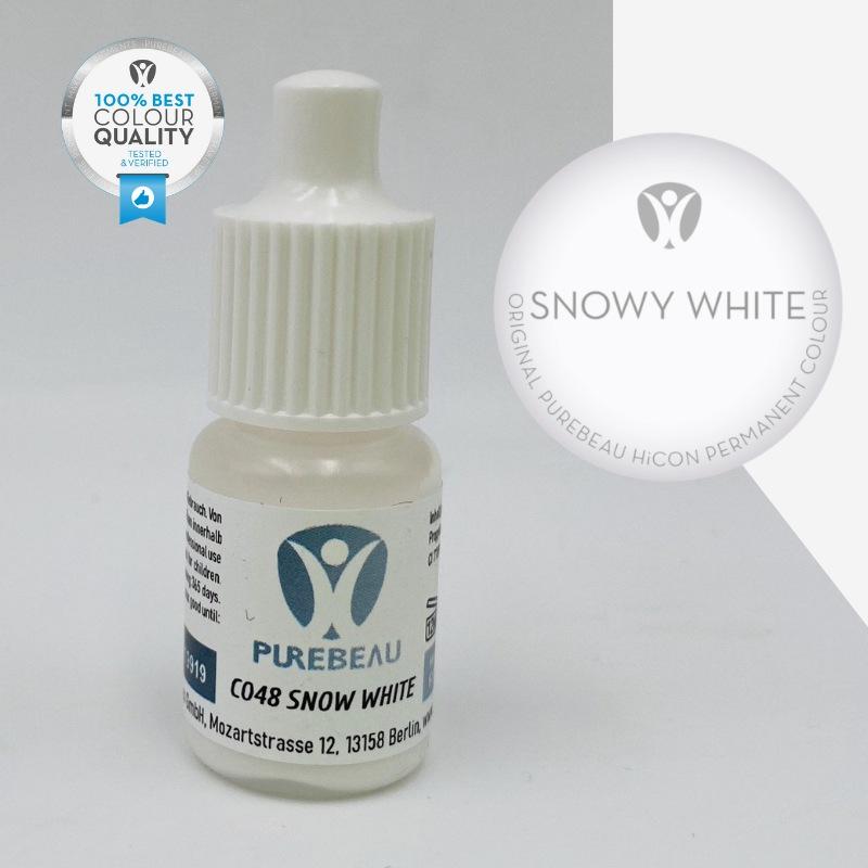 Pigmento Liquido per PMU Purebeau - Snowy White (5 ml)