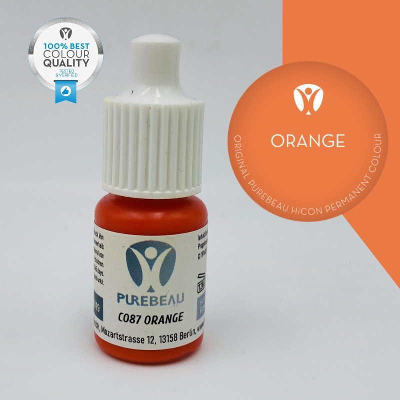 Pigmento Liquido per PMU Purebeau - Orange (5 ml)