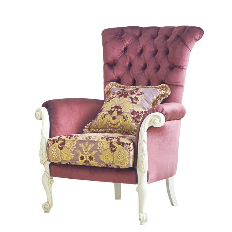 Gepolsterter Sessel Süßes Leben