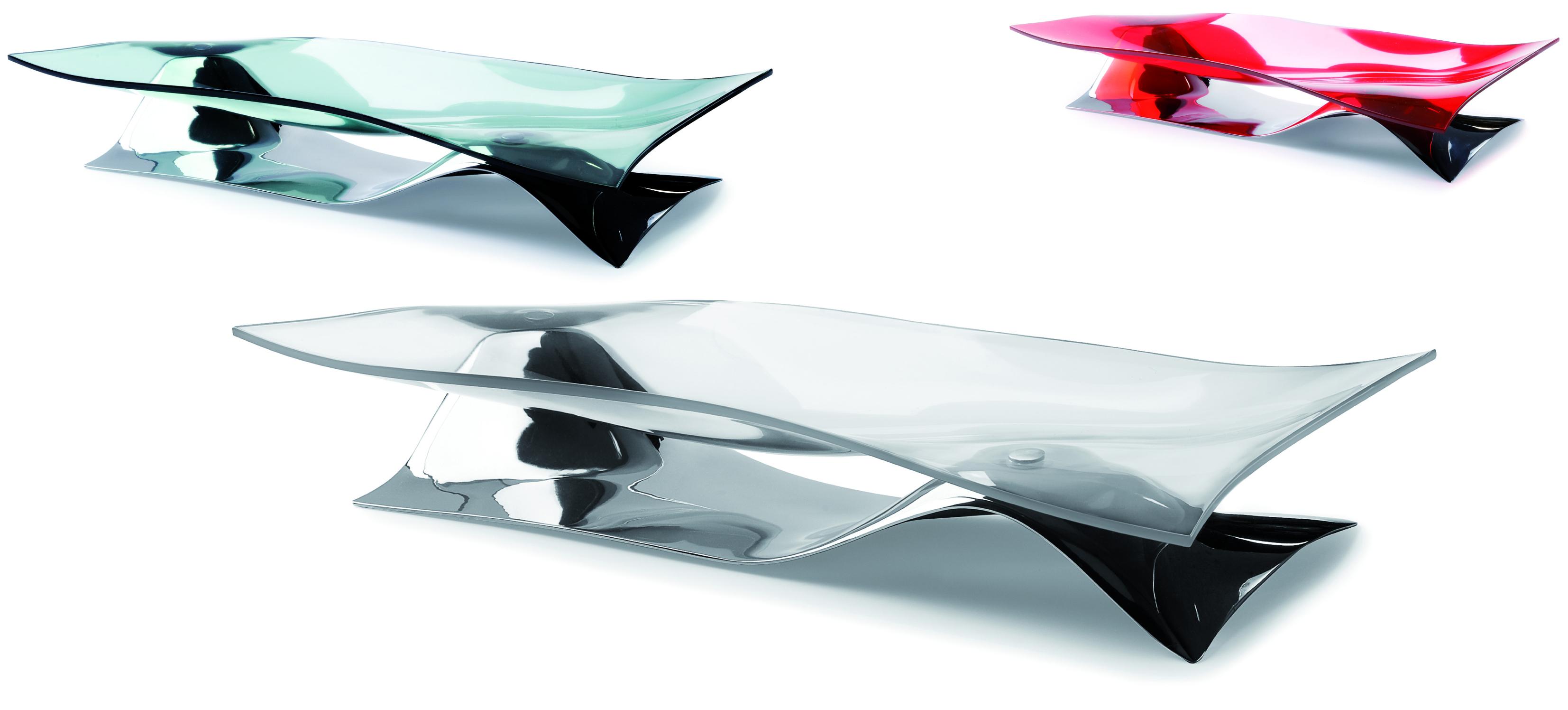 Centrotavola soffio trasparente