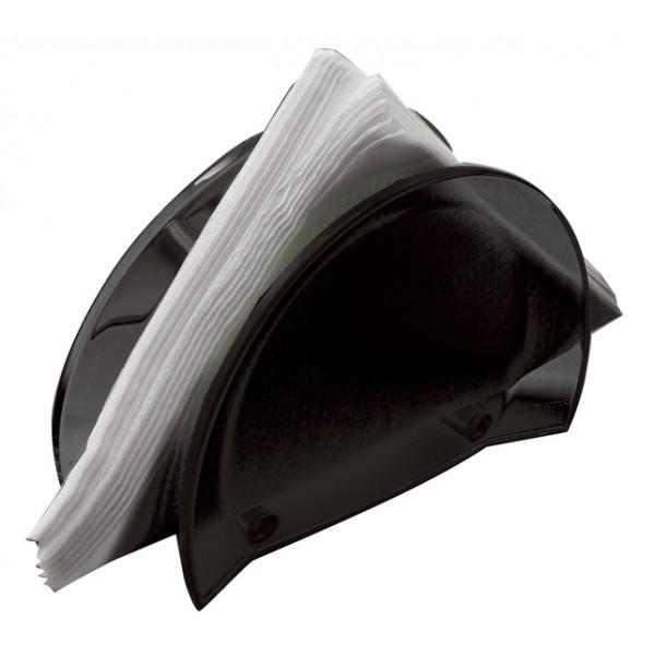 porta tovaglioli Glamour nero