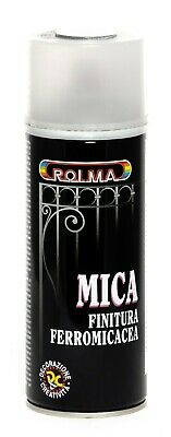 Bomboletta Spray mica finitura ferromicaceo