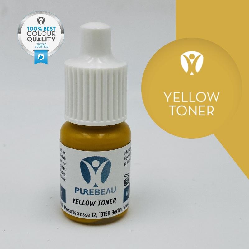 Pigmento Liquido per Microblading Purebeau - Yellow Toner (5 ml)