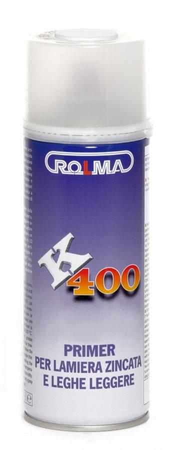 Bomboletta Spray K 400 • primer per lamiera zincata e leghe leggere