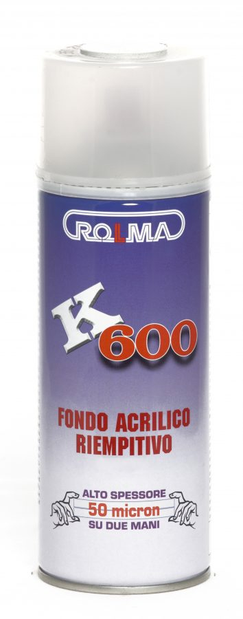 Bomboletta Spray K 600 fondo riempitivo - stucco riempitivo antiruggine
