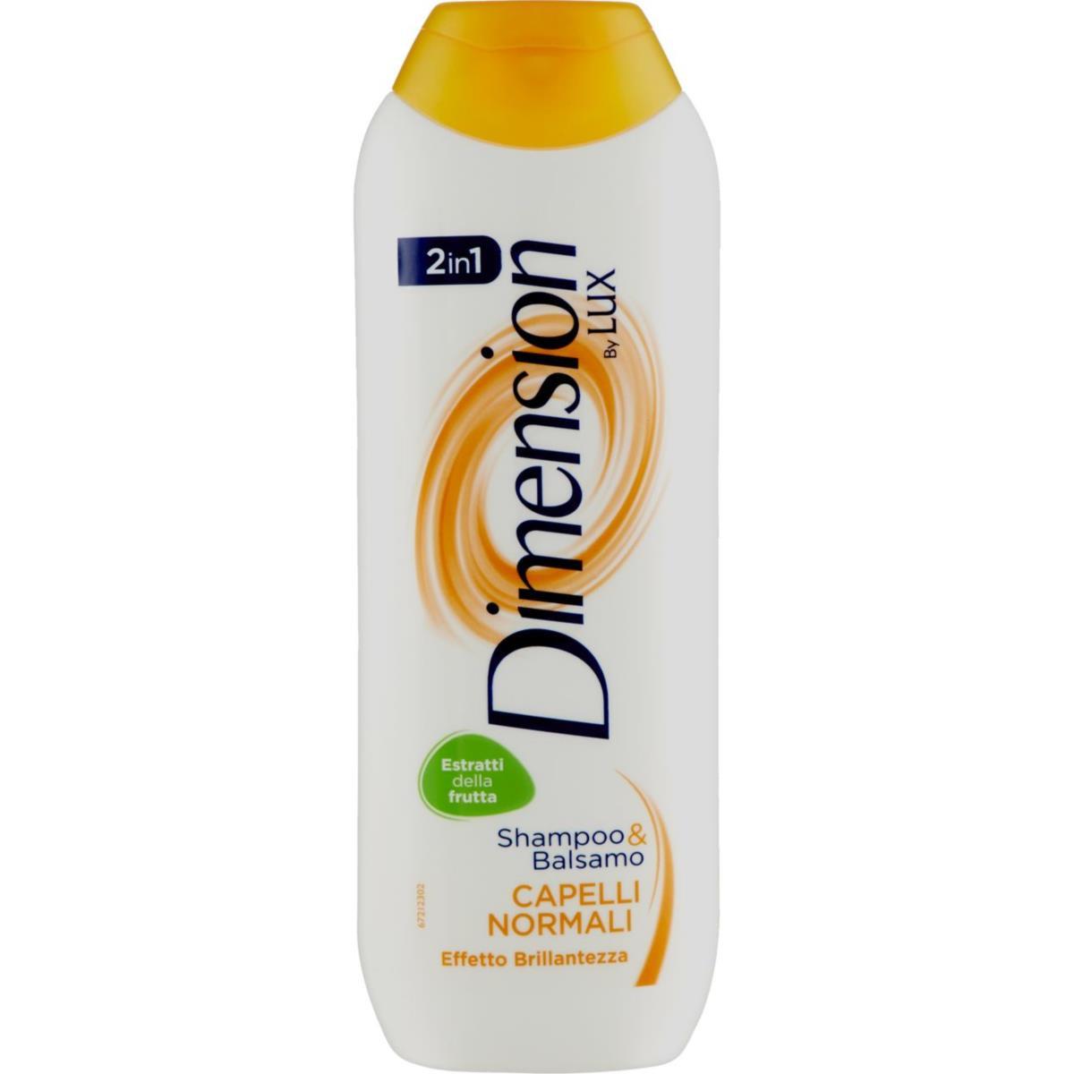 DIMENSION Lux Capelli Normali Shampoo&Balsamo 2in1 250ml