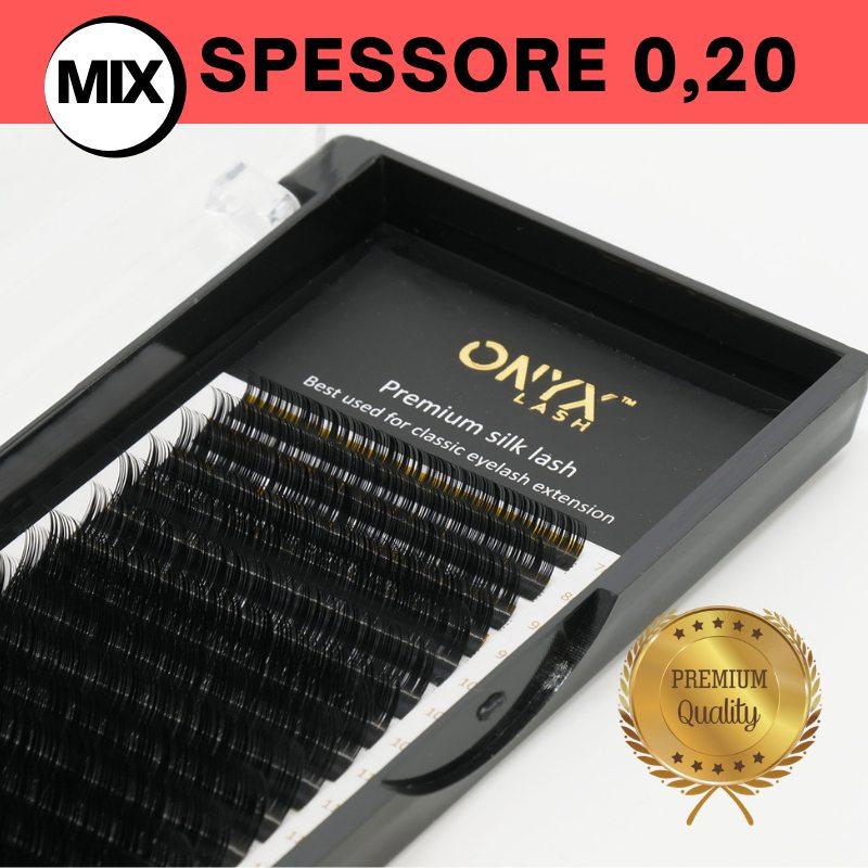 Ciglia - Curva D / Spessore 0,20 - MIX