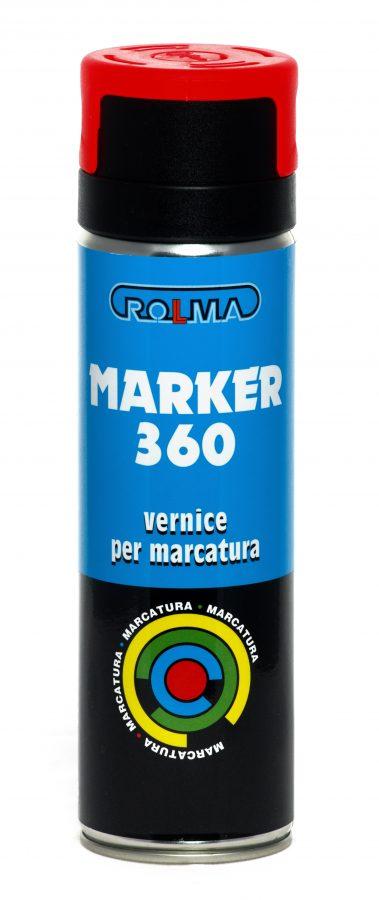 Bomboletta Spray marker 360 vernice per marcatura