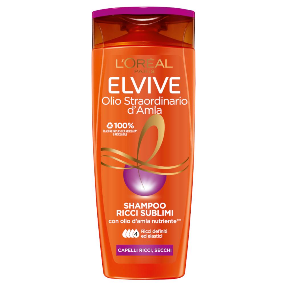 ELVIVE Shampoo Olio Straordinario Ricci Sublimi 400ml