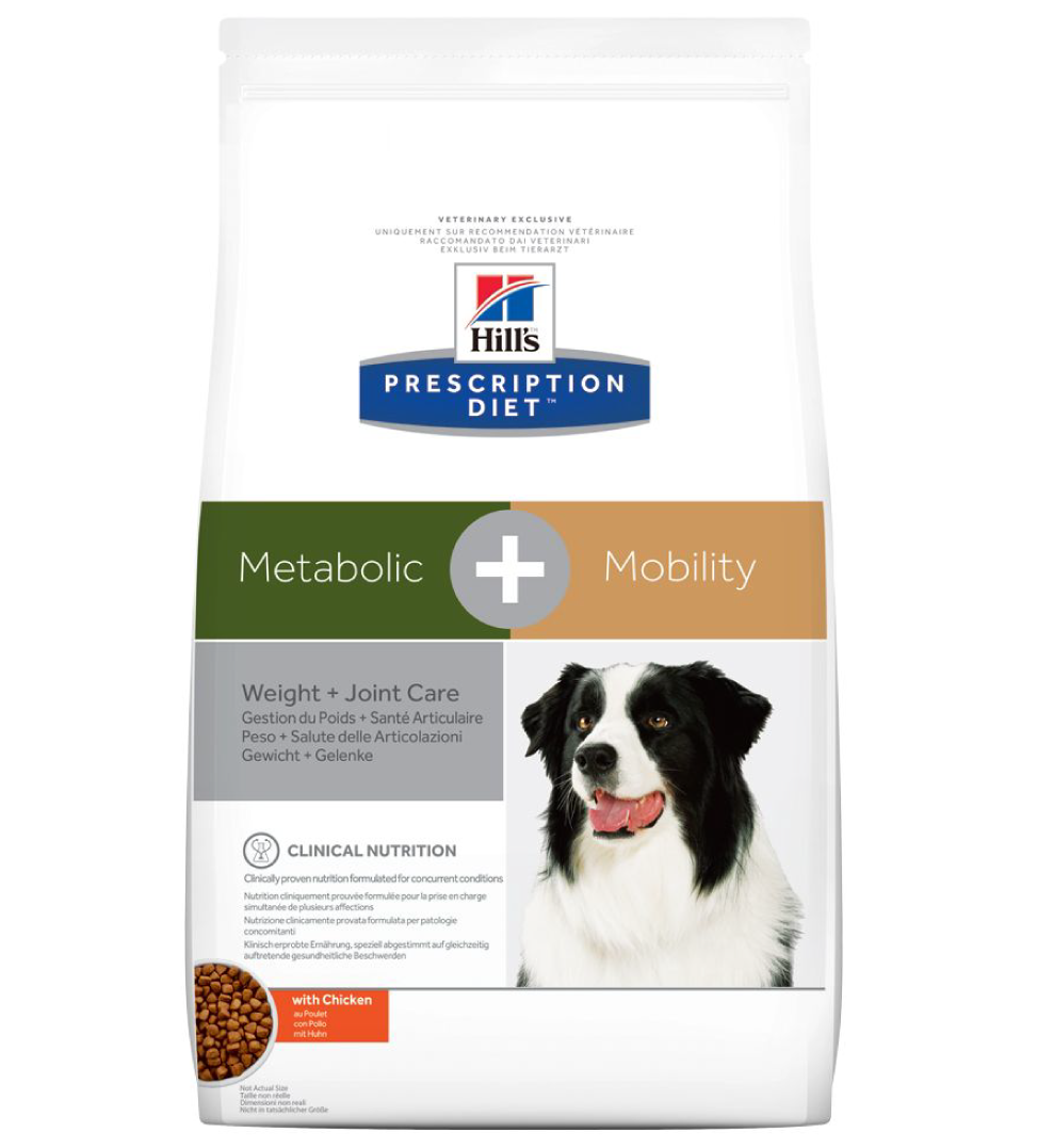Hill's - Prescription Diet Canine - Metabolic+Mobility - 12 kg x 2 sacchi