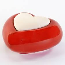 Lovely diffusore  cuore rosso