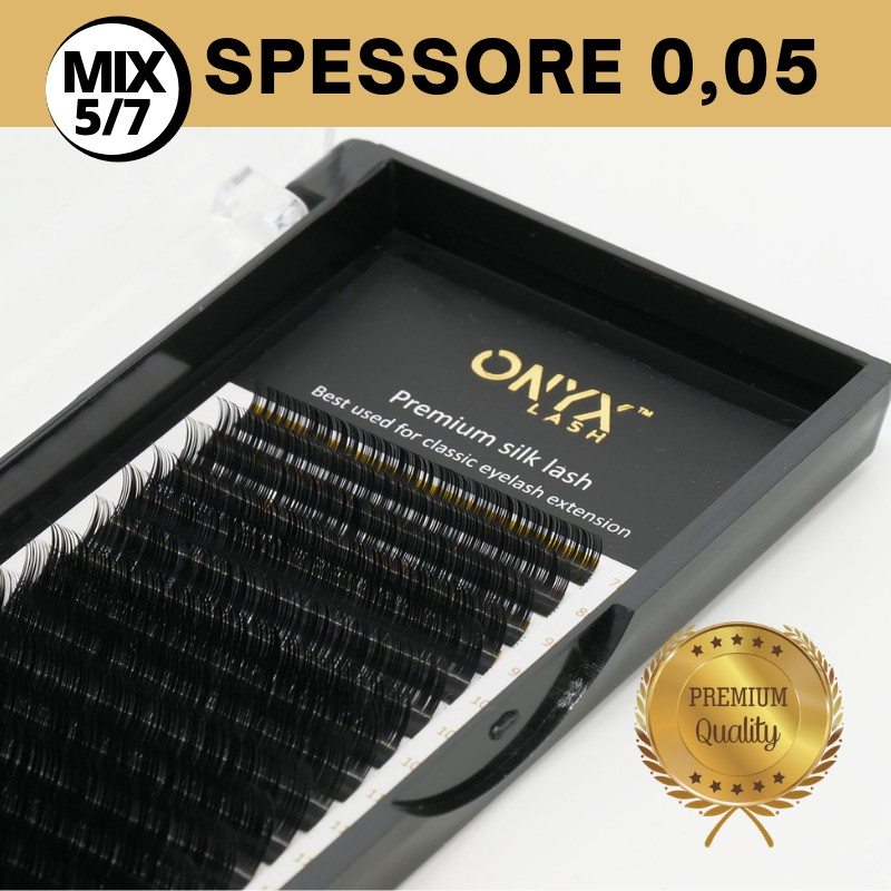 Ciglia - Curva C / Spessore 0,05 - SHORT MIX 5/7