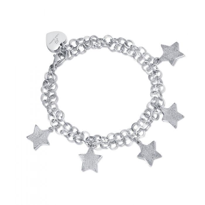 Bracciale donna Luca Barra con stelle