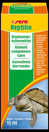 Sera Reptilin 15ml Vitamine per rettili