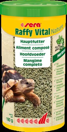 Sera Raffy Vital Nature rafforza le difese immunitarie , crescita sana delle ossa e del carapace