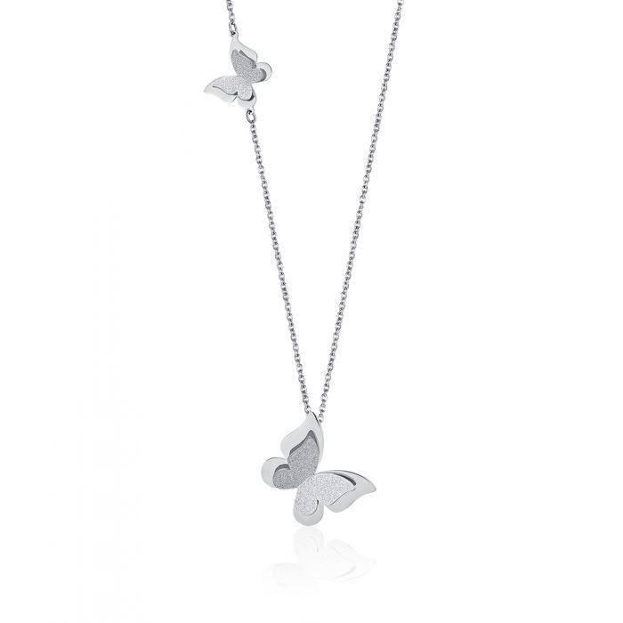 Collana donna Luca Barra con farfalle