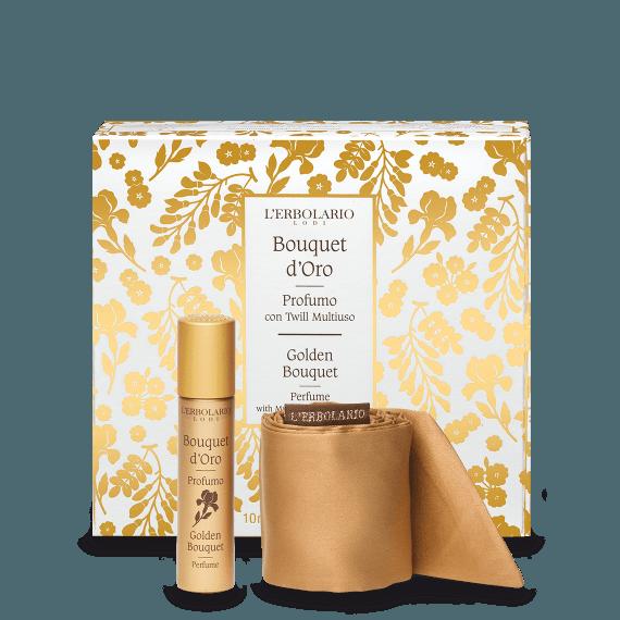 Bouquet d'Oro Profumo con twill multiuso Ed.Lim 10 ml
