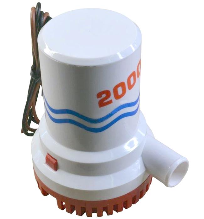 Pompa di sentina ad immersione 12V 2000GPH