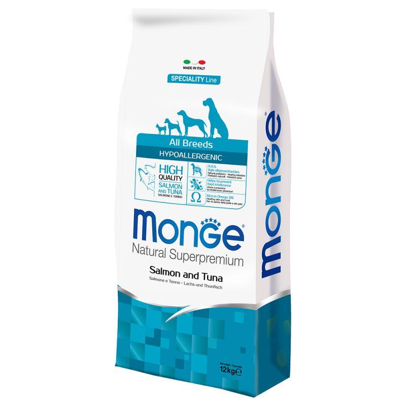 Monge - Natural Superpremium - All Breeds - Hypoallergenic - 12 kg x 2 sacchi