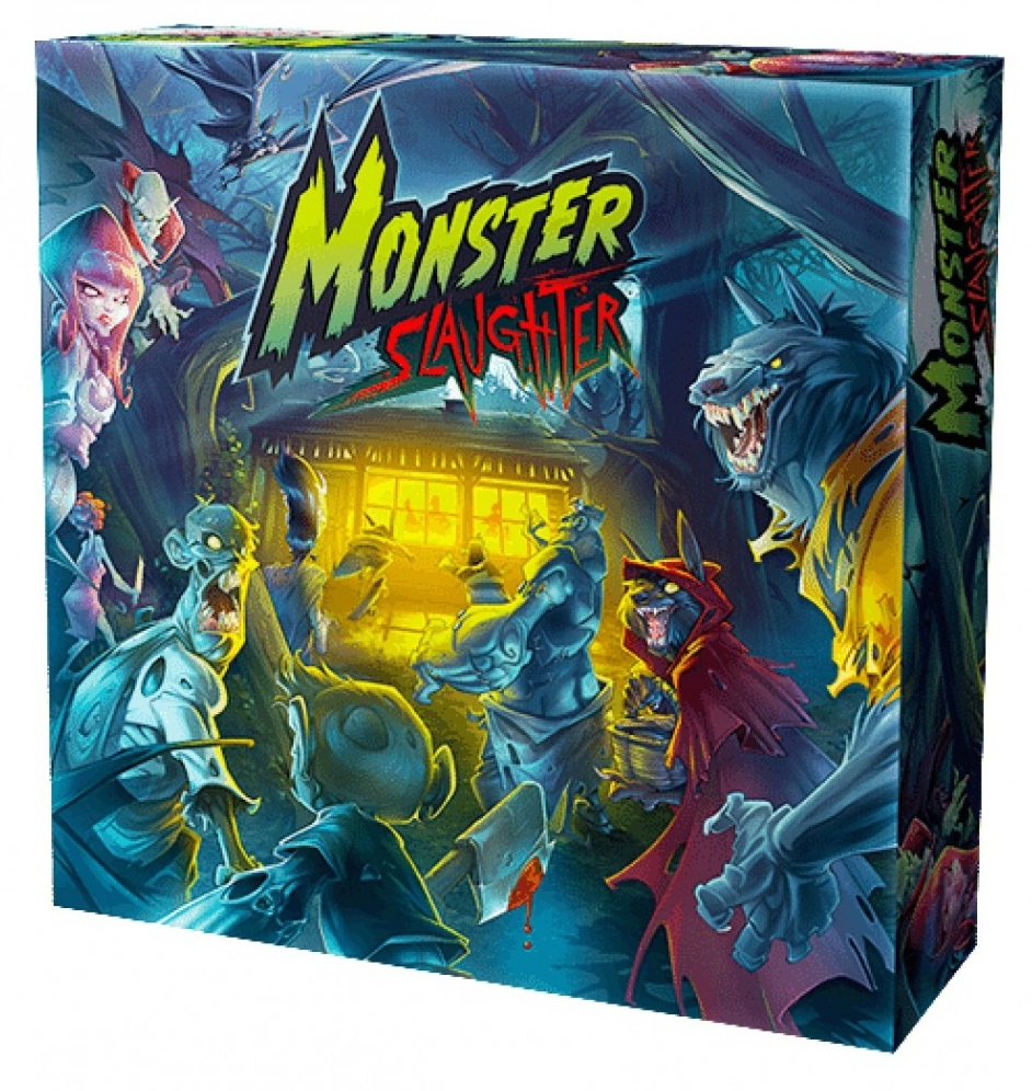 Board Game edizione italiana: MONSTER SLAUGHTER by 3 Emme Games