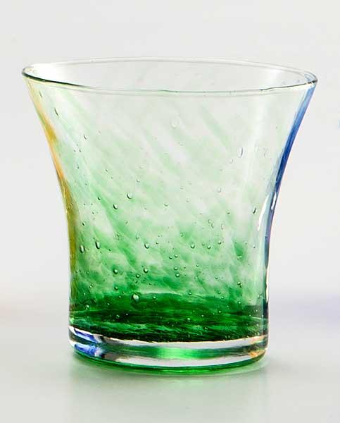 Wasser Glas Padova Korn  Grün (6stck)