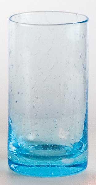 Glas  Milchshake Hellblau (6stck)