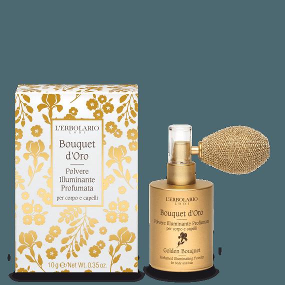 Bouquet d'Oro Polvere Illuminante Profumata corpo e capelli Ed.Lim. 10g