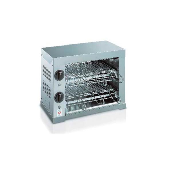 Toaster Portofino 6 Zangen Edelstahl, W 3000