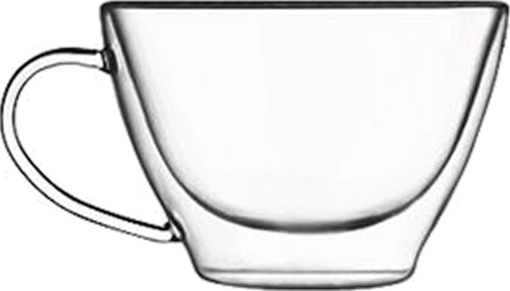 Glas Tasse thermisch Duos multiuso (6stck)