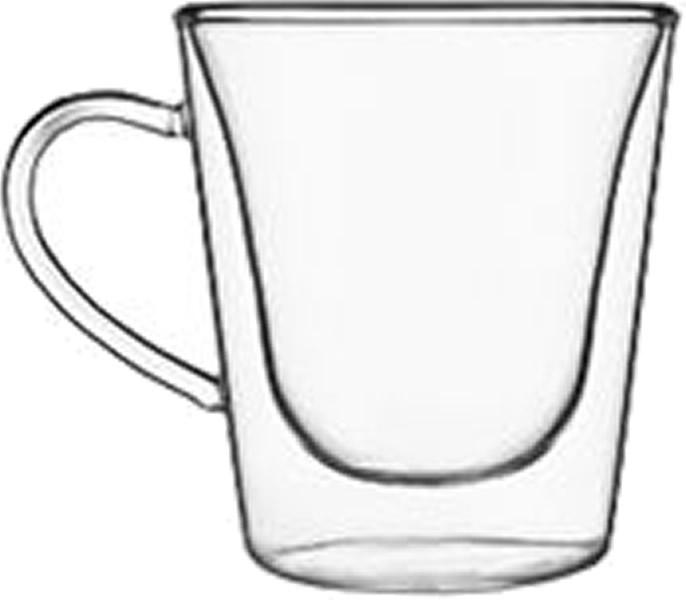 Glas Tasse thermisch Duos espresso (6stck)