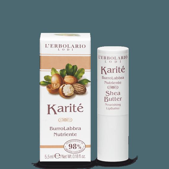 Karité Burro Labbra Nutriente 5,5 ml