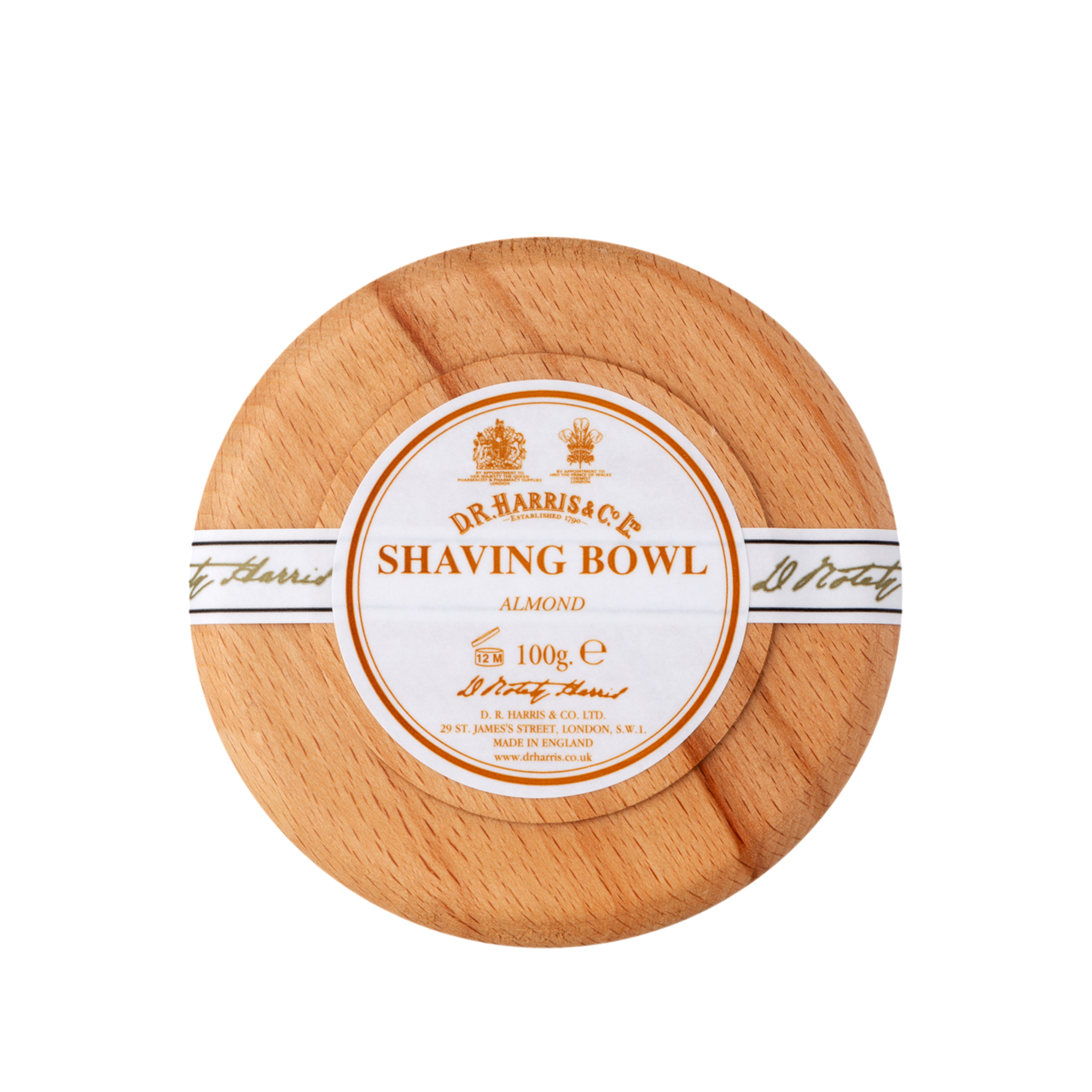 Almond - Shaving Soap Bowl
