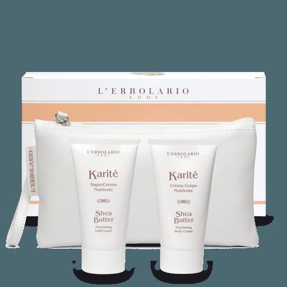 Karité Beauty-Pochette composta da BagnoCrema da 75 ml e Crema Corpo da 75 ml - Ed.Lim. 1 pz