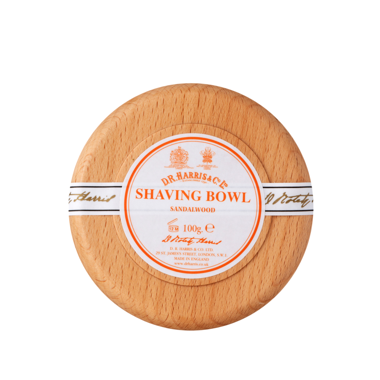 Sandalwood - Shaving Soap Bowl
