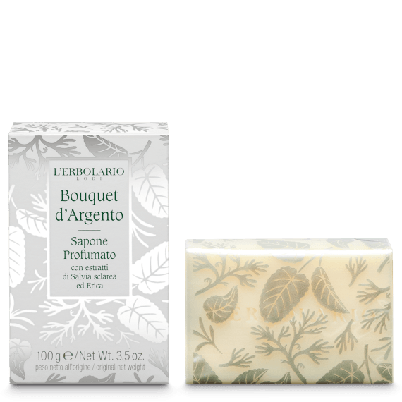 Bouquet d'Argento Sapone Profumato 100g