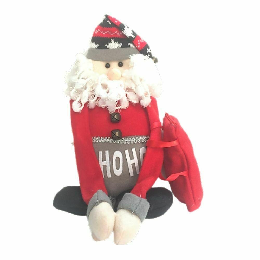 Babbo Natale in stoffa portadolci