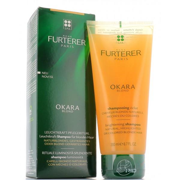 Rene Furterer Okara Blond shampoo luminosità  Capelli biondi naturali, con meches o colorati-150ml